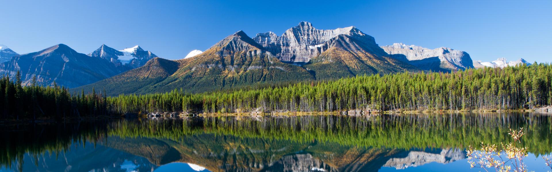 Nationalparks im Westen Kanadas komfort