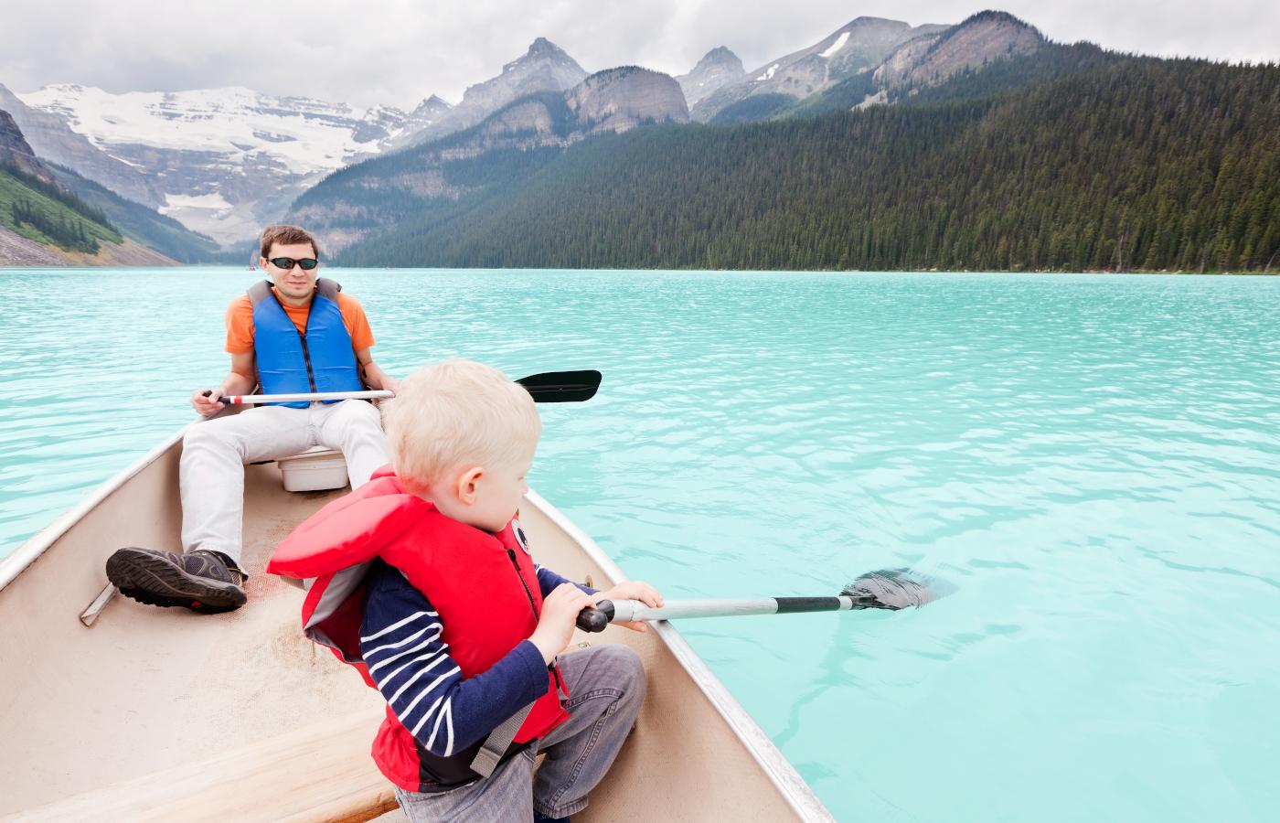 Familienreise durch den Westen Kanadas XXL